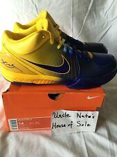 *RARE*Nike Kobe Zoom IV 4 MVP 4 Rings, Size 14 (Kobe's size), DS