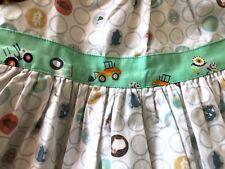 New Matilda Jane Platinum Girls Size 6 Top Farm Chickens Tractor 4 Out Of 8 Made