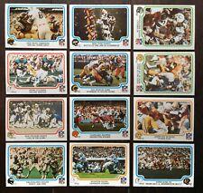 1979 Fleer Football - lot of 12