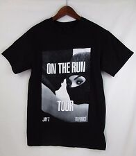 JAY-Z  & BEYONCE 2014 ON THE RUN TOUR T-SHIRT S-M Worn/washed Once EUC RARE HTF