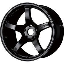 RAYS gram LIGHTS 57CR 18x9.5J +38 5x114.3 glossy black set of 4 from JAPAN