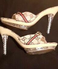 Gucci Woman's monogram heels