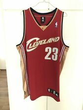 Lebron James Jersey Cleveland Cavaliers Authentic sz.44 Rare