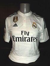 Real Madrid Local Camisa 2014-15 Ronaldo del mundo FIFA 7 BNWT pequeña Mens Campeones
