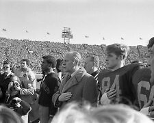 President Gerald Ford attends 1974 Army-Navy Football game Photo Print