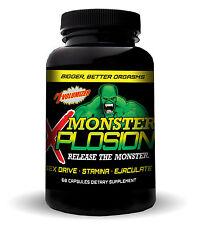 MONSTER XPLOSION  MALE ENHANCEMENT EJACULOID EJACULATON SEX DRIVE 120 Pills