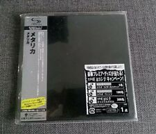 Metallica same title JAPAN MINI LP SHM CD SEALED