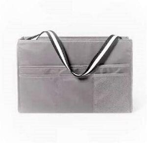 Room Essentials Multipurpose Dorm Organizer Bedside Caddy Storage Tote Gray