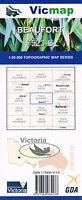 BEAUFORT 7523-S  -  Vicmap 1:50,000  Topographical Map  priority freepost Austr