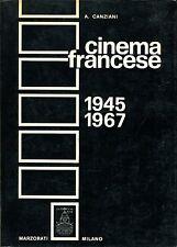 A. Canziani = CINEMA FRANCESE 1945-1967