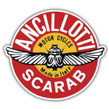 ANCILLOTTI SCARAB Moto Scooter Retrò 90 mm x 85 mm