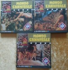 "SUPER 8 - ""MONDO CANNIBALE"" - 3 X 110m - COLOR WITH GERMAN SOUND."
