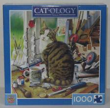 MasterPieces 1000 Piece Jigsaw Puzzle Catology NELSON Tabby Geoffrey Tristram
