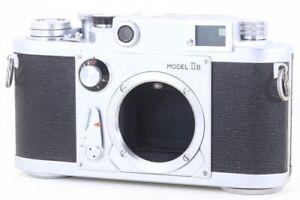 Minolta 35 Model IIB Rangefinder Film Camera Body from Japan 109855 Exc+++