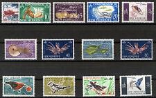 NEW HEBRIDES 1963 DEFINITIVES SG98/109+129 MNH