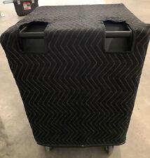 YORKVILLE Elite ES18P ES 18P Padded Premium Black Covers - (2) Qty of 1 = 1 Pair