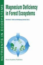 Magnesium Deficiency in Forest Ecosystems 1 (2012, Paperback)