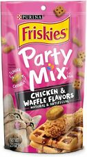 Purina Friskies Party Mix Chicken and Waffle Flavors for Cat 1-2.1 Oz