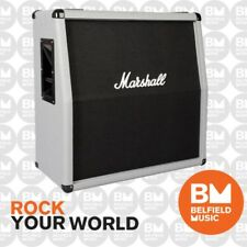Marshall MC-2551AV Guitar Cabinet Angled Extension Cab 4x12'' SIlver Jubilee