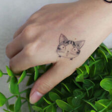 Cute Cheese Cat Temporary Tattoo Stickers Chi's Sweet Home Cat Kids Flash Tattoo