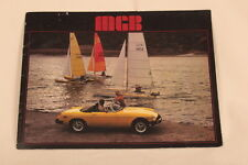 Original 1978 MGB Roadster SALES BROCHURE