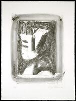 DDR-Kunst/Nachwendezeit. Lithographie Dieter GOLTZSCHE (*1934 D), handsigniert