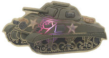 Kid's Jibbitz LED Military Tank Shoe Charms, Green, OS