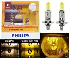 Philips Weather Vision Yellow 2900K H1 55W Two Bulbs Fog Light Replacement Lamp