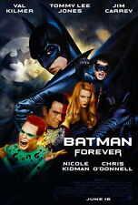 "BATMAN FOREVER Movie Poster [Licensed-NEW-USA] 27x40"" Theater Size Kilmer"