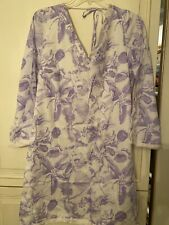 Persifor Ladies Brie Dress in Thistle Toile Print Size Large