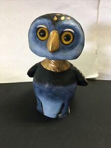Goebel Rosina Wachtmeister Signed Wobble Head Owl S33