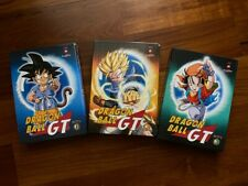 DRAGON BALL GT - 3 BOX DVD YAMATO VIDEO - RARI