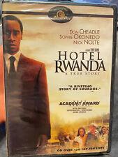 Hotel Rwanda (2004) *New* Dvd Don Cheadle Nick Nolte *Buy 4+ Get Free Shipping*
