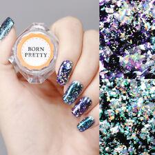 2Boxes Chameleon Holographic Nail Art Powder Sequins Paillettes Born Pretty 0.1g