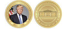 """PRESIDENT DONALD TRUMP  INAGURATION COIN IT'S GONNA BE HUGE 1.75"""" CHALLENGE COIN"""