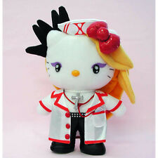 New! Hello Kitty x X Japan Yoshiki Yoshikitty Nurse Plush Doll Sanrio Japan F/S