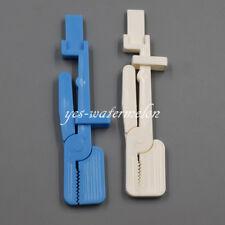 Dental X Ray Film Holder Snap Plastic Clip Hanger Bluewhite 135c Autoclavable