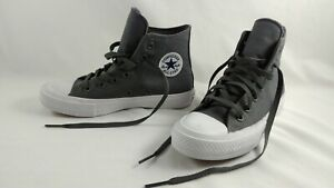 Chuck Taylor Converse All Star Il Grey Canvas Shoes Mens 4 Womens 6 Hightops New