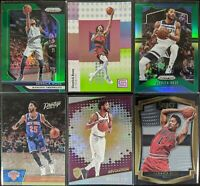 Lot of (6) Derrick Rose, Including Status /75, Prizm green & other parallels
