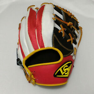 "Louisville Slugger Air III 12"" Black/Red/White I-Web Infield RHT Baseball Glove"
