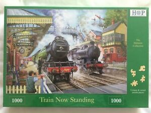 Brand New House of Puzzles 1000 Piece Jigsaw Puzzle - TRAIN NOW STANDING
