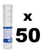 "50 x 50 micron sediment filter string-wound 10"",Reverse osmosis,biodiesel."