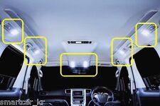 2008-2015 Toyota Alphard Vellfire SuperWhite LED Interior Map & Room Light Set