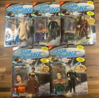 1994 Playmates Star Trek Next Generation LOT OF 5 COLLECTOR SERIES 7TH SEASON