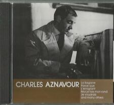 A - 1 CD Charles Aznavour / La Bagarre, Parce que, Lémigrant und andere