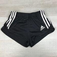 """Adidas Vintage 90's High Cut Sheer Polyester Running Shorts, Sz XXS 26"""" waist,"""