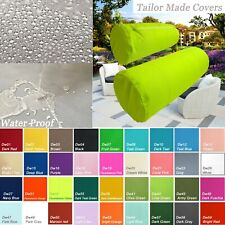 TAILOR MADE*Bolster Cover*Waterproof Outdoor Yoga Neck Roll Long Tube Case Dw44