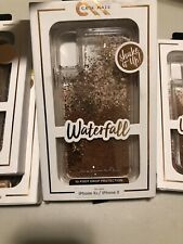 Wholesale Lot (8) Casemate Waterfall Case- iPhone Xs / X - Gold/Rose Gold