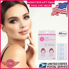 80/40pcs Set Instant Face Neck Eye Lift Face lift Tapes V Shape Anti Wrinkle Lot