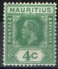 Lightly Hinged George V (1910-1936) Mauritian Stamps